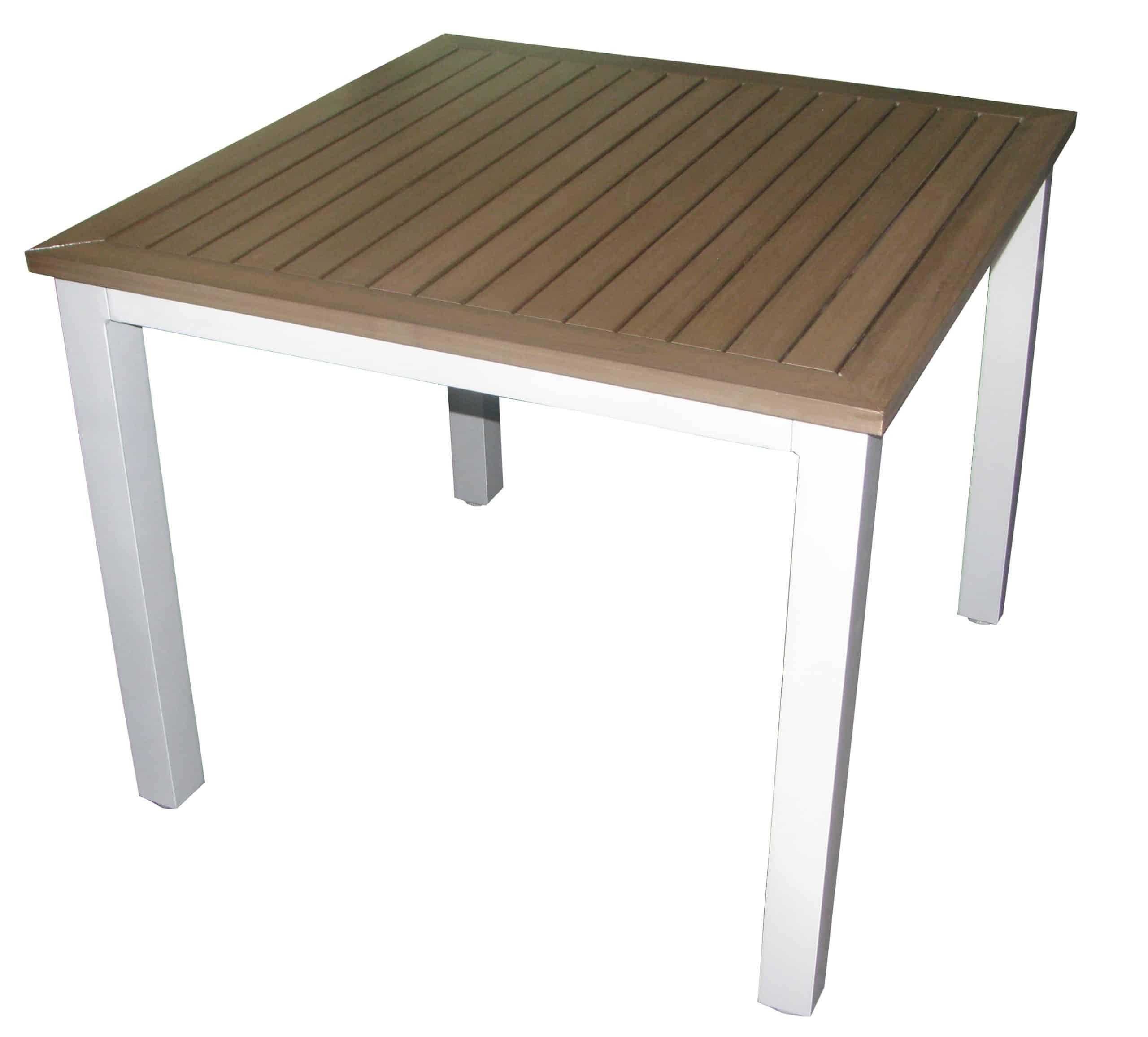 U0027FAUX WOOD ALUMINIUM DINING TABLESu0027   Daydream Leisure Furniture Part 28