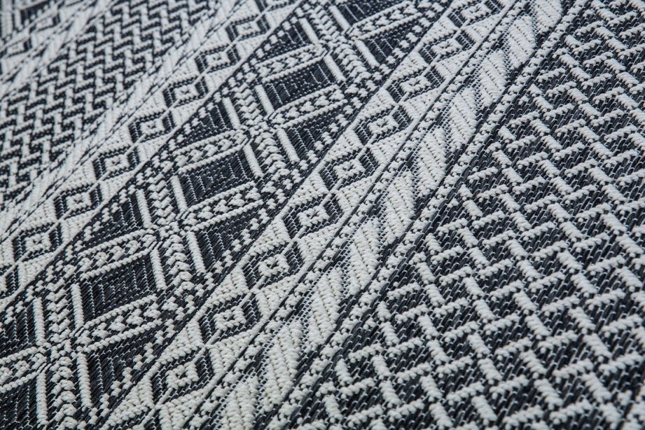 black aztec rug geometric and seoni amp design off white htm